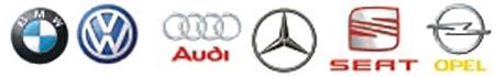 BMW VW AUDI MERCEDES SEAT OPEL
